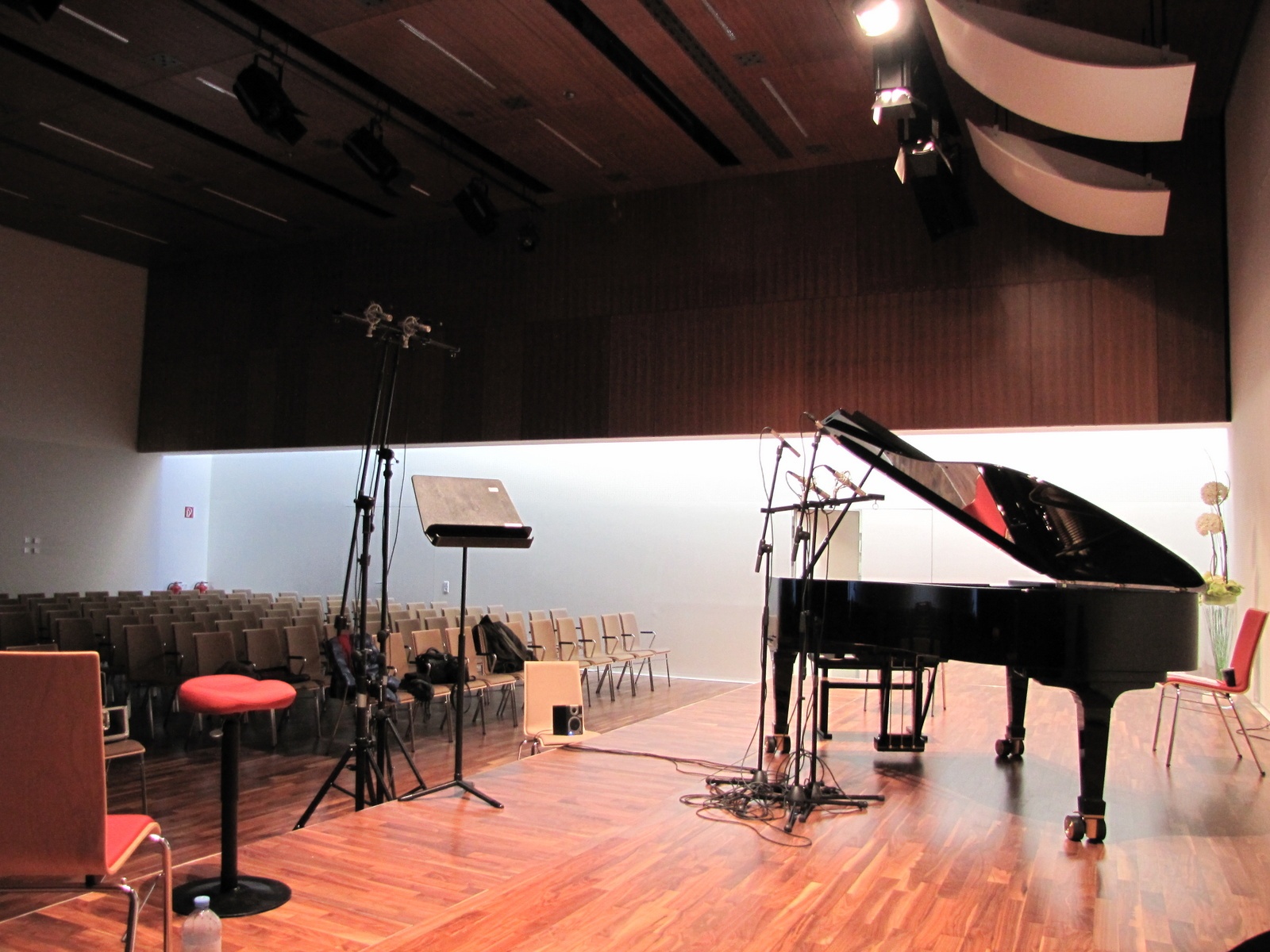 "Recordings for project ""Viva Verdi"". Wels (Austria), april 2012."